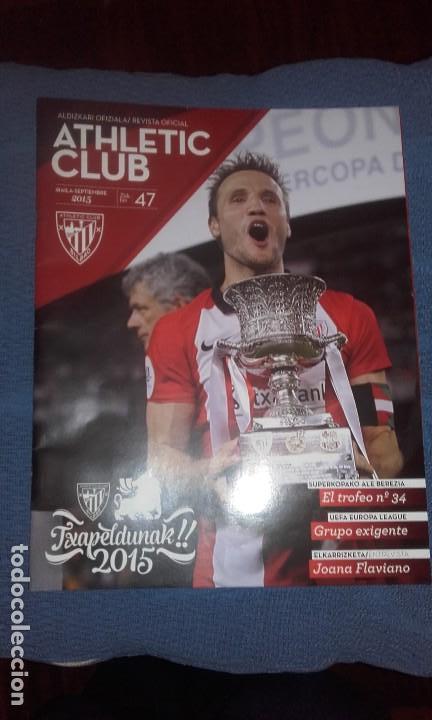 REVISTA OFICIAL ATHLETIC CLUB BILBAO N 47 (Coleccionismo Deportivo - Revistas y Periódicos - otros Fútbol)