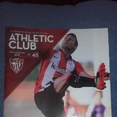 Coleccionismo deportivo: REVISTA OFICIAL ATHLETIC 48 DICIEMBRE 2015. Lote 115128135