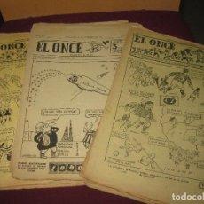 Coleccionismo deportivo: EL ONCE 30 NUMEROS VARIOS AÑOS.. Lote 115281803
