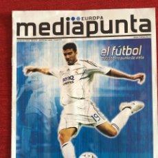Coleccionismo deportivo: RP REVISTA PROGRAMA MEDIAPUNTA REAL MADRID BAYERN MUNCHEN MUNICH CHAMPIONS 2007 2008. Lote 115390587