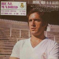 Coleccionismo deportivo: REVISTA DEL REAL MADRID BOLETÍN MENSUAL AÑO 1973. NÚMERO 280. Lote 115397291