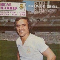 Coleccionismo deportivo: REVISTA DEL REAL MADRID BOLETÍN MENSUAL AÑO 1973. NÚMERO 279. Lote 115397463