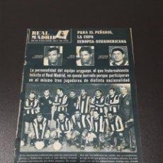Coleccionismo deportivo: REVISTA R.MADRID. FINAL INTERCONTINENTAL. R.MADRID - PEÑAROL. NOVIEMBRE 1966.. Lote 115977486