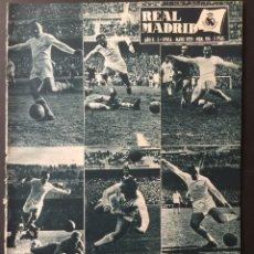 Coleccionismo deportivo: REVISTA REAL MADRID.MAYO 1959.SEMIFINAL COPA EUROPA.REAL MADRID,2-ATLETICO MADRID,1. Lote 116583391