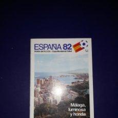 Coleccionismo deportivo: REVISTA REAL COMITÉ ORGANIZADOR N° 9 MALAGA MUNDIAL ESPAÑA 82. Lote 116845026