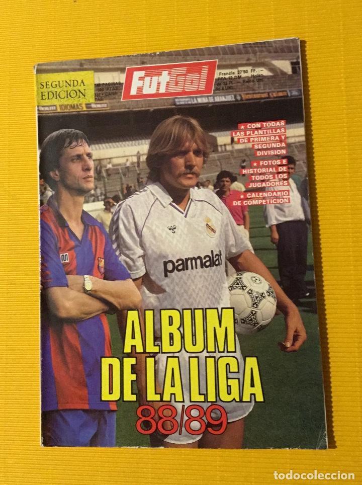 REVISTA FUTGOL ÁLBUM DE LA LIGA 88 89 (Coleccionismo Deportivo - Revistas y Periódicos - otros Fútbol)