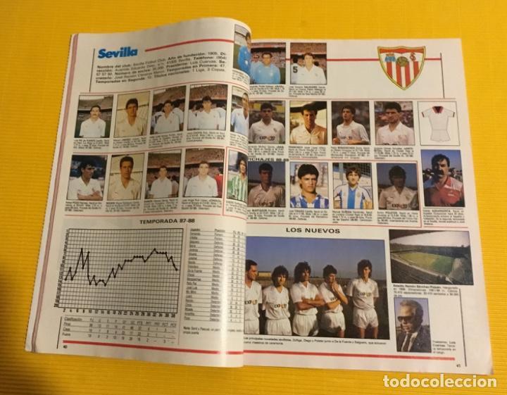 Coleccionismo deportivo: Revista futgol álbum de la liga 88 89 - Foto 3 - 117173027
