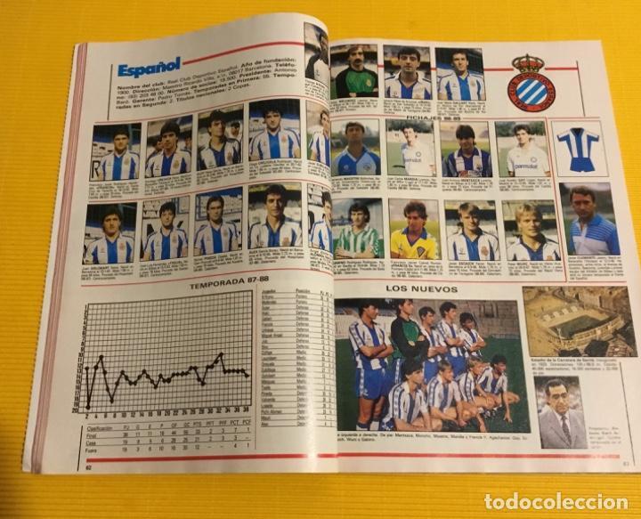 Coleccionismo deportivo: Revista futgol álbum de la liga 88 89 - Foto 5 - 117173027