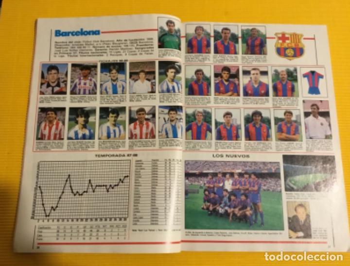 Coleccionismo deportivo: Revista futgol álbum de la liga 88 89 - Foto 6 - 117173027