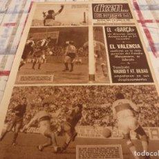 Coleccionismo deportivo: DICEN(3-10-66)INAUGURACIÓN CAMPO MANZANARES AT.MADRID 1 VALENCIA 1,ELCHE 4 BARÇA 3,ESPAÑOL-HERCULES. Lote 117421527