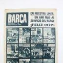 Coleccionismo deportivo: PUBLICACIÓN /REVISTA DE FÚTBOL- BARÇA -1971, Nº 841- REXACH, OBRAS DEL PALAU. Lote 117623882