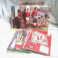 Coleccionismo deportivo: DICEN DIARIO DEPORTIVO AÑO 1952, LOTE 242 NÚMEROS ENTRE EL 13 Y EL 372, BUEN ESTADO, LISTA PUBLICADA. Lote 117695307