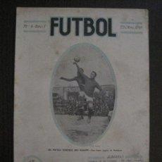 Coleccionismo deportivo: PARTIDO HOMENAJE BRU Y REGUERA-BARCELONA ESPAÑA-FUTBOL-OCTUBRE 1919 -VER FOTOS-(V-14.184). Lote 118182975