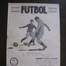 Coleccionismo deportivo: PARTIDO INTERNACIONAL- BARCELONA -SESUMAGA -FUTBOL-OCTUBRE 1919 -VER FOTOS-(V-14.185). Lote 118183235