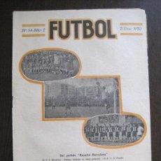 Coleccionismo deportivo: ESPAÑOL -BARCELONA- ZAMORA-SPORTING GIJON -FUTBOL- DICIEMBRE 1920 -VER FOTOS-(V-14.193). Lote 118185167