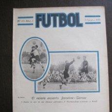 Coleccionismo deportivo: F.C. BARCELONA-ESPAÑA ALCANTARA SAMITIER RENE PETIT -FUTBOL- SEPTIEMBRE 1921 -VER FOTOS-(V-14.197). Lote 118186971