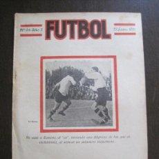 Coleccionismo deportivo: F.C. BARCELONA-ZAMORA-SANS ESPAÑOL-ALCANTARA -FUTBOL- SEPTIEMBRE 1921 -VER FOTOS-(V-14.198). Lote 118187195