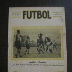 Coleccionismo deportivo: ESPAÑOL- ESPAÑA-REAL MADRID- ATHLETIC BILBAO -FUTBOL- MARZO 1922 -VER FOTOS-(V-14.203). Lote 118188975