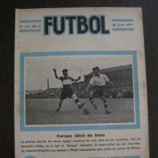Coleccionismo deportivo: EUROPA -SANS -ESPAÑA -FUTBOL-JUNIO 1922 -VER FOTOS-(V-14.210). Lote 118191403