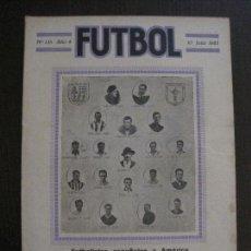 Coleccionismo deportivo: FUTBOLISTAS ESPAÑOLES EN AMERICA-ATENEU SANT FELIU GUIXOLS -FUTBOL-JULIO 1922-VER FOTOS-(V-14.211). Lote 118191731