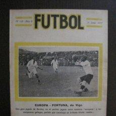 Coleccionismo deportivo: EUROPA FORTUNA DE VIGO- ESPAÑOL BADALONA -FUTBOL-JULIO 1922-VER FOTOS-(V-14.212). Lote 118194991