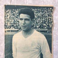 Coleccionismo deportivo: REVISTA REAL MADRID FUTBOL RAMON MORENO GROSSO JUGADOR DEL REAL MADRID OCTUBRE 1964 Nº 173. Lote 118230247