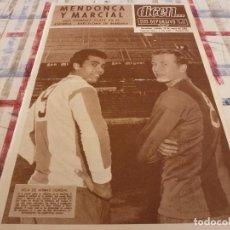 Coleccionismo deportivo: DICEN(20-1-68)MENDONÇA Y MARCIAL BARÇA-ESPAÑOL,ZOLTAN CZIBOR,TORRERO CIERRA PUERTAS(ZARAGOZA)PELÉ.. Lote 118458375