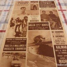 Coleccionismo deportivo: DICEN(3-2-68)ESCANDALO BENVENUTTI !!! CASTELLANOS Y GUEDES(LAS PALMAS)OLIMPIADAS BLANCAS CHAMONIX. Lote 118556911