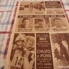 Coleccionismo deportivo: DICEN(10-2-68)CHUZO Y PONS(MÁLAGA)FAGOR(CICLISMO)PROX.BARÇA-VALENCIA,MESTRE Y ROBERTO.. Lote 118558651