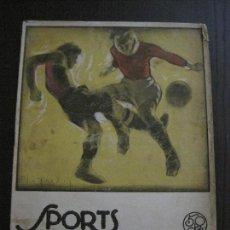 Coleccionismo deportivo: SPORTS-FUTBOL- F.C. BARCELONA VS R.C.D ESPAÑOL -ZAMORA -SAMITIER -ENERO 1924-VER FOTOS - (V-14.345). Lote 118586799