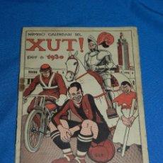 Coleccionismo deportivo: (M) REVISTA NUMERO CALENDARI DEL XUT !!! PER A 1930 , PORTADA FC BARCELONA , JOSEP SAMITIER. Lote 119217239