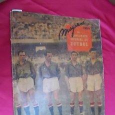 Coleccionismo deportivo: MAGAZINE DEL CAMPEONATO MUNDIAL DE FUTBOL 1950. Lote 119358743