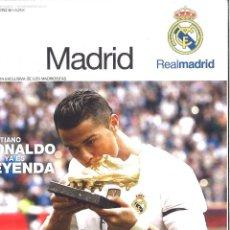 Collezionismo sportivo: HALA MADRID. 56. SEPTIEMBRE 2015. CRISTIANO RONALDO YA ES LEYENDA. Lote 119388499