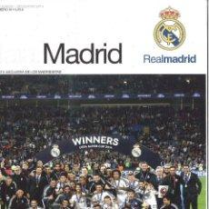 Collezionismo sportivo: HALA MADRID. 52. SEPTIEMBRE 2014. CAMPEONES SUPERCOPA DE EUROPA 2014. Lote 119519275