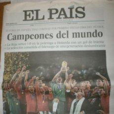 Coleccionismo deportivo: ESPAÑA CAMPEONA MUNDIAL 2010 . Lote 119858415