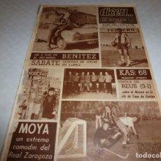 Coleccionismo deportivo: DICEN(1-3-68)SABATÉ(ESPAÑOL)BENITEZ(BARÇA)REUS HOCKEY,MOYA(ZARAGOZA)KAS-68(CICLISMO). Lote 120136015
