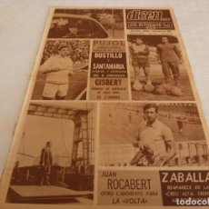 Coleccionismo deportivo: DICEN(-3-68)COPA EUROPA RACING MALINAS-CSKA. SOFIA,BUSTILLO Y SANTAMARIA(ZARAGOZA)ZABALLA(SABADELL). Lote 120136467