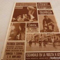Coleccionismo deportivo: DICEN(5-3-68)NINO BENVENUTTI CAMPEÓN,OLIVELLA(BARÇA)MOTOCLUB ESPLUGAS,JUAN OBIOL. Lote 120137339