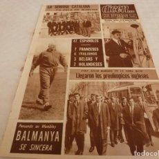 Coleccionismo deportivo: DICEN(26-3-68)BALMANYA(ESPAÑA)SEMANA CATALANA CICLISMO,PESCAROLO Y JACKIE STEWART MARTRA.. Lote 120276103