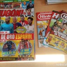 Coleccionismo deportivo: LOTE DE 14 REVISTAS JUGÓN NUEVAS + 3 REVISTAS NINTENDO.. Lote 131916435