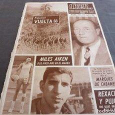 Coleccionismo deportivo: DICEN(23-4-68)REXACH(BARÇA)A LA MILI!!VUELTA-68,HOY DICEN NUMERO 1000!!!!MILES AIKEN(R.MADRID). Lote 120347439