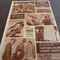 Coleccionismo deportivo: DICEN(3-5-68)SUECIA 1 ESPAÑA 1,GLARIA FICHE ESPAÑOL,MANUEL MESTRES(MOTOS)HERIBERTO HERRERA. Lote 120537651