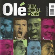 Coleccionismo deportivo: OLÉ - GUÍA TORNEO INICIAL 2013 - EXTRALIGA / SEASONGUIDE. #. Lote 120566343