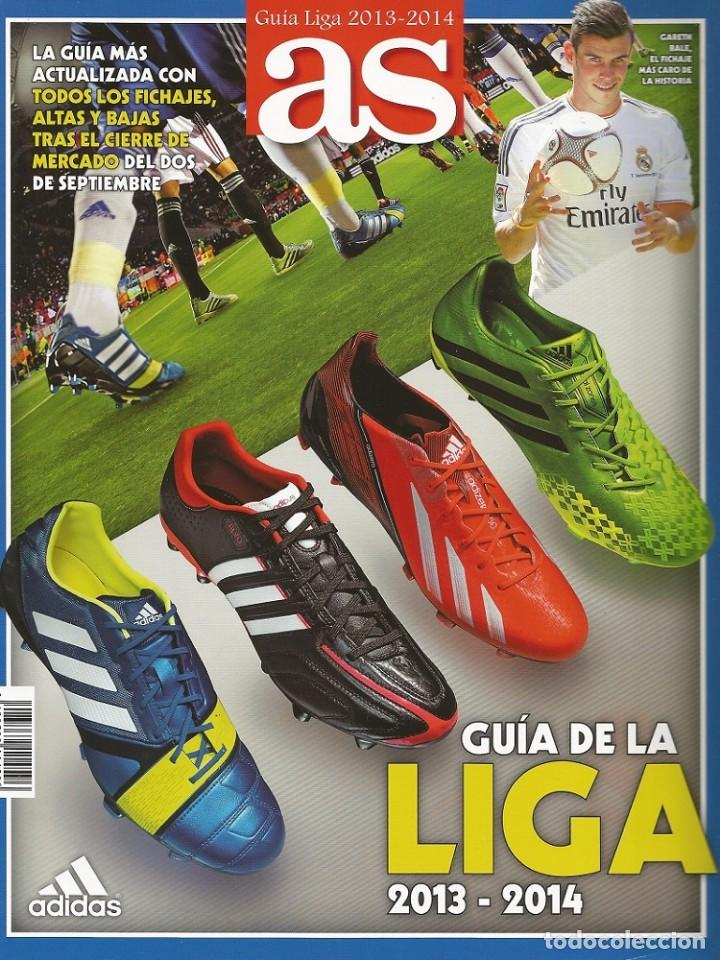 AS. - LIGA 2013-2014 - EXTRALIGA / LEAGUEGUIDE. # (Coleccionismo Deportivo - Revistas y Periódicos - otros Fútbol)