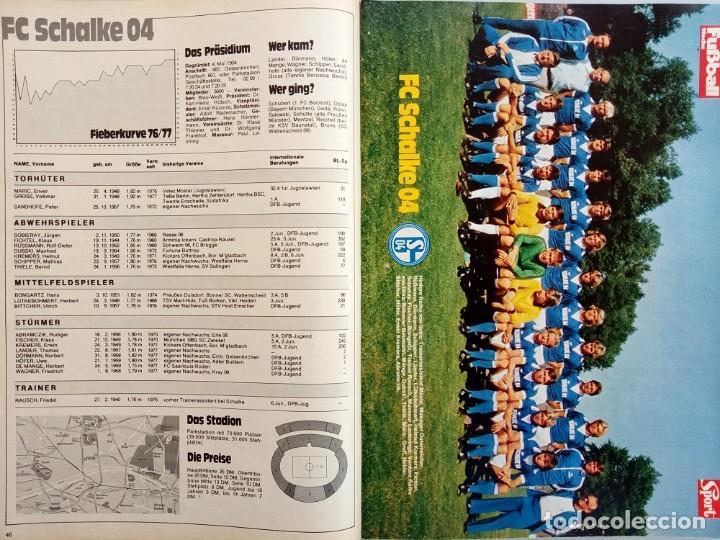 Coleccionismo deportivo: FUSSBALL WOCHE - BUNDESLIGA 77-78 - ExtraLiga / Season Guide.# - Foto 3 - 120573931