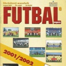 Coleccionismo deportivo: FUTBAL MAGAZIN - MARS SUPERLIGA 2001/2002 - EXTRALIGA / SEASONGUIDE.#. Lote 120575207