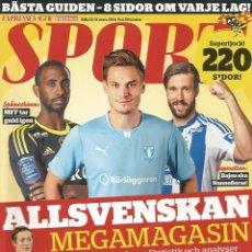 Coleccionismo deportivo: SPORT EXPRESSEN MAGAZINE - ALLSVENSKAN 2014 - EXTRALIGA / SEASONGUIDE. #. Lote 120575635