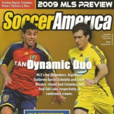 Coleccionismo deportivo: SOCCER AMERICA - 2009 MAJOR LEAGUE SOCCER PREVIEW - EXTRALIGA / SEASONGUIDE. #. Lote 120575831