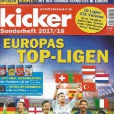 Coleccionismo deportivo: KICKER - EUROPAS TOP-LIGAEN 2017/2018 - EXTRALIGA / LEAGUEGUIDE.#. Lote 120576435