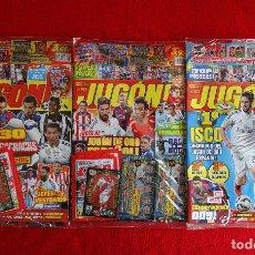 Coleccionismo deportivo: REVISTAS JUGON 101 102 103 PRECINTADAS SIN ABRIR, AMPLIACION INVIERNO ESTE, EDICIONES LIMITADAS.... Lote 133840789